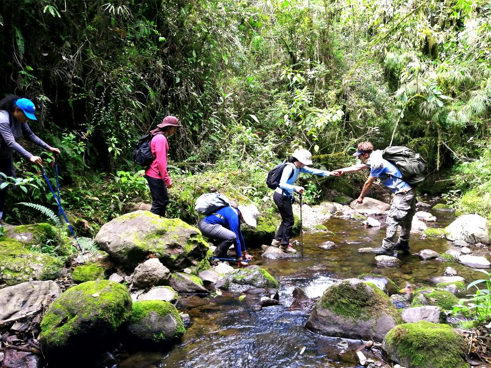 Día dos en la mañana: Reserva Natural